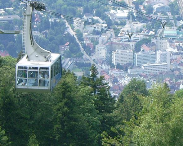 nachmittags ein Besuch auf dem Pfänder ist zu empfehlen - (Europa, Österreich, Bregenz)