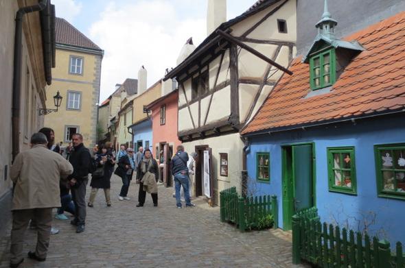Goldenes Gässchen - (Prag, Tschechische Republik, Eintritt)