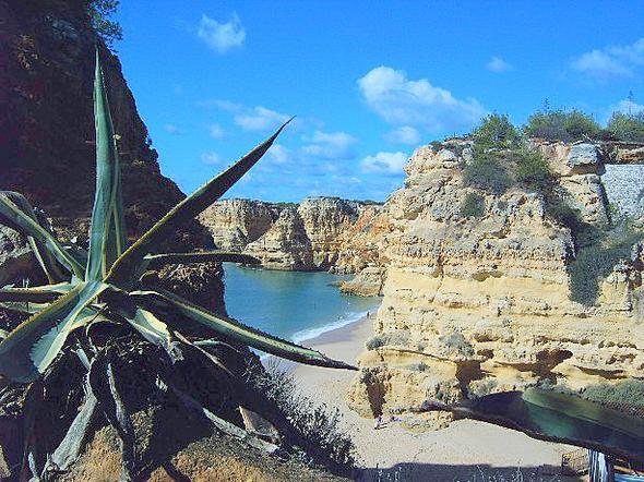 Praia da Marinha - (Strand, Portugal, Algarve)