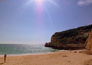 Praia benagil - (Strand, Portugal, Algarve)