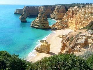 Praia Marinha - (Strand, Portugal, Algarve)