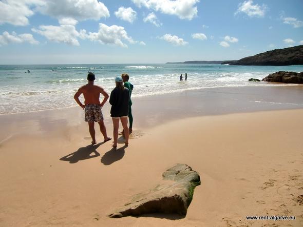 Praia Zavial - (Strand, Portugal, Algarve)