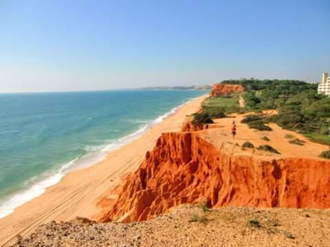 Praia Falesia - (Strand, Portugal, Algarve)