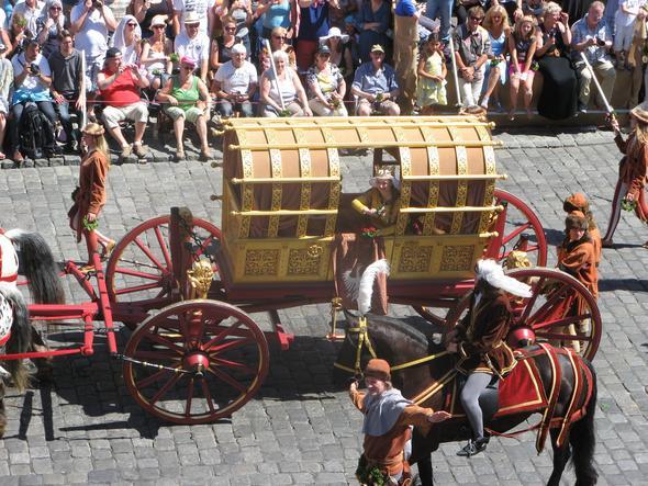 Das Hochzeitspaar - (Mittelalter, Landshut, landshuter-hochzeit)