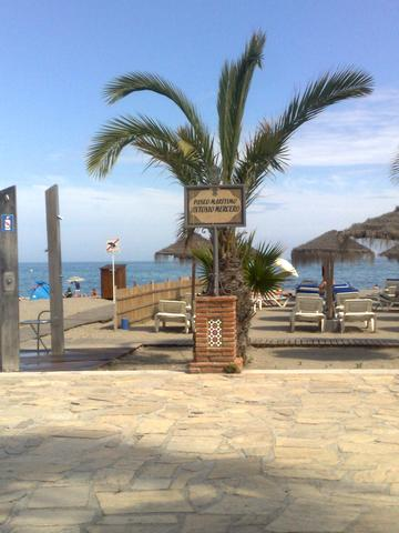 Playa Burriana Nerja - (Spanien, Ruhe, Strandort)