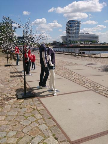 Hamburg Hafen City - (fotografieren, Smartphone)