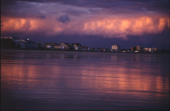 Wells Beach und seine Sonnenuntergänge! - (USA, Amerika, Ostküste)