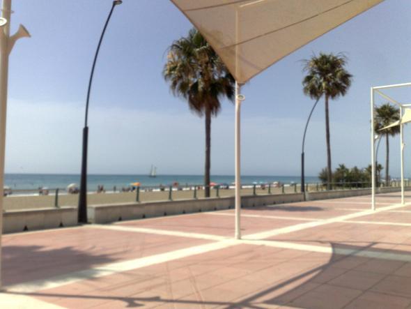 Strandpromenade Estepona - (Spanien, Sehenswürdigkeiten, Andalusien)