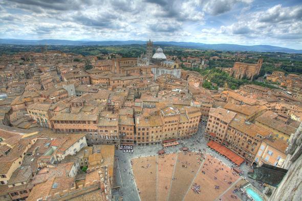 Siena - (Italien, Sehenswürdigkeiten, Mietwagen)