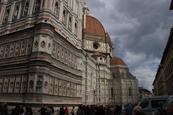 Seitenansicht des Doms - (Europa, Italien, Reiseziel)