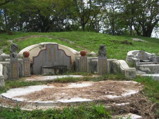 Chinesischer Friedhof - (Autoreise, Malaysia, Westküste)