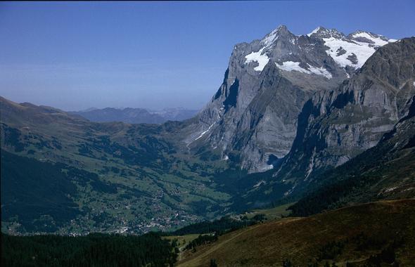 Grindelwald mit Wetterhorn - (Wandern, Gletscher, Ausflugsziele)
