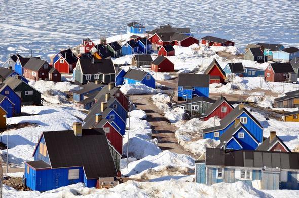 Ittoqqortoormiit / Grönland - (Reise, Stadt)