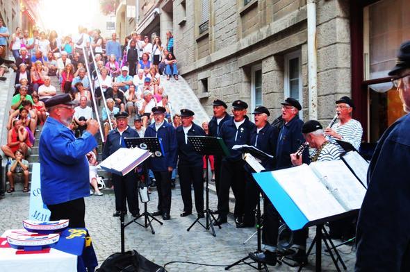 Marinechor St.Malo - (Bretagne, bretonische Volksmusik)