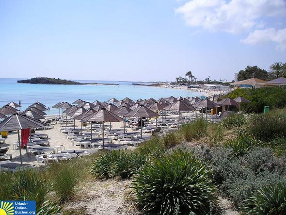 Nissi Beach, Agia Napa, Zypern - (Europa, Entspannung, Ruhe)