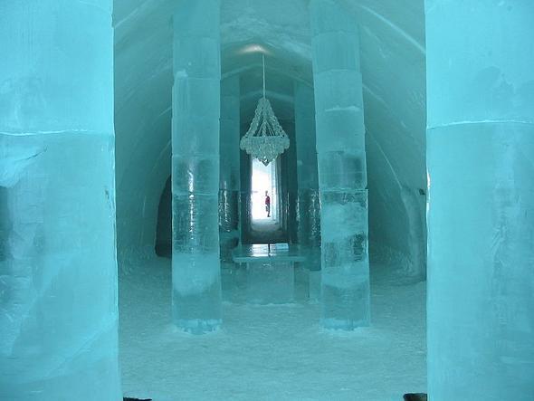 Eishotel - (Hotel, Temperatur, heizen)