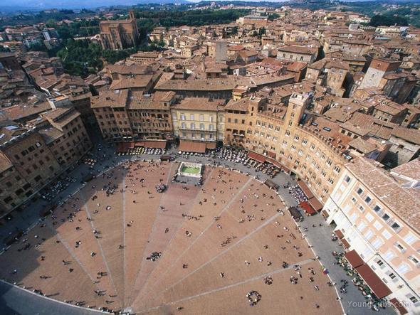 Palio di siena - (Italien, Städtereise, Empfehlung)