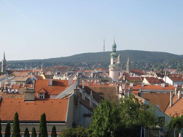 Blick über die Altstadt von Sopron in Ungarn - (Wien, Ungarn, Tagesausflug)