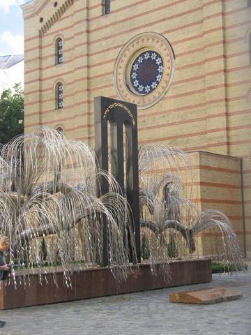Denkmal für die deportierten Juden hinter der Großen Synagoge. - (Ungarn, Budapest, Geschichte)