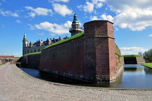 Schloss Kronborg - (Europa, Städtereise, Dänemark)