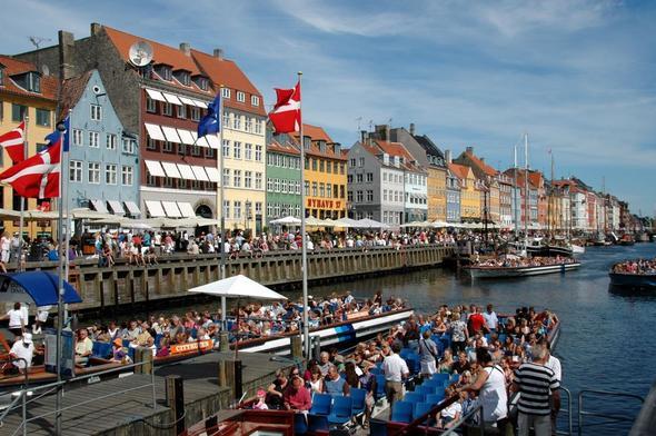 Nyhavn, Kopenhagen - (Europa, Städtereise, Dänemark)