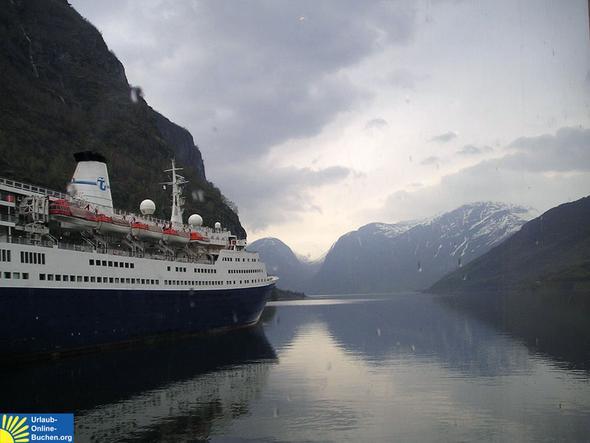 Aurlandsfjord, Norwegen - (Norwegen, Fjorde)