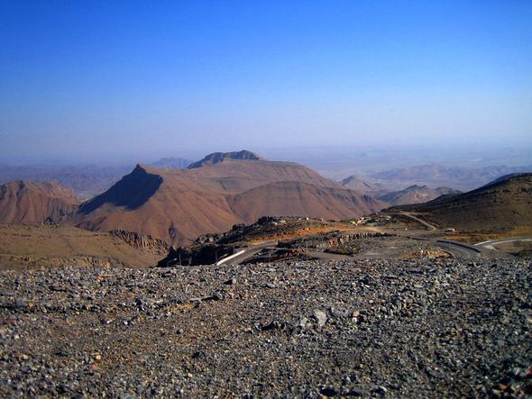 Aif dem Weg zum Jebel al Akhdar - (Reiseveranstalter, Oman, Reiseleiter)