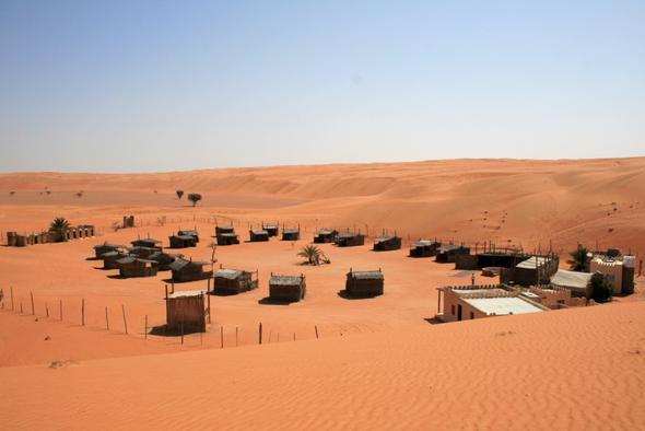 Ein authentisches Wüstencamp - (Reiseveranstalter, Oman, Reiseleiter)