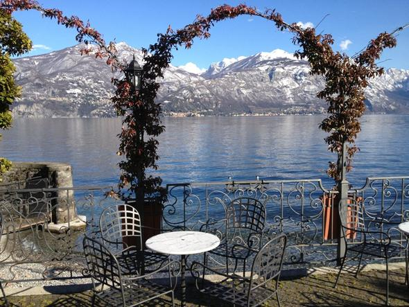 Lung Lago Menaggio - (Italien, Hotel, Winter)