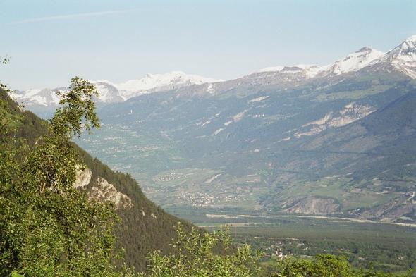 Blick ins Rhonetal - (Europa, Reiseziel, Einreise)