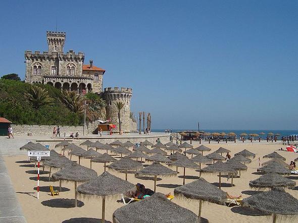 Strand von Estoril - (Portugal, Lissabon, Atlantik)