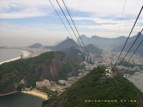 Hinauf auf den Zuckerhut - (Rio de Janeiro, Corcovado)