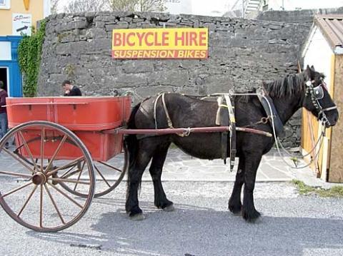 Aran Island Insel Transport - (Irland, Busreise, Dublin)