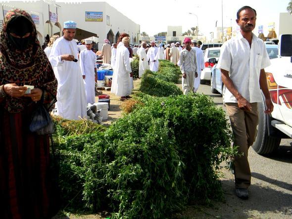 Die ganze Stadt ein einziger Markt - Sinaw - (Oman, teuer)