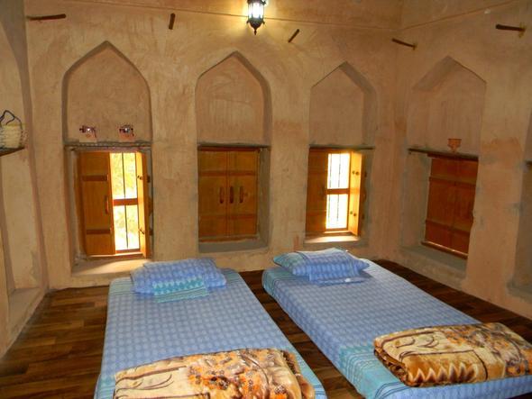 Einfaches Bed & Breakfast im Landesinneren - (Oman, teuer)