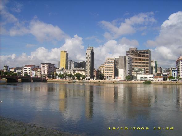 Stadtansicht - (Südamerika, Strand, Brasilien)