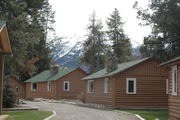 Jasper: die Bear Hill Lodge - (Kanada, Straßenverhältnisse im Oktober)