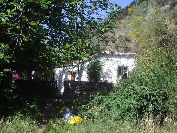 Haus in den Alpujarras - (Spanien, Sehenswürdigkeiten, Andalusien)