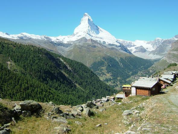 Findeln mit Matterhorn - (Klassenfahrt, Klasse, Schulwoche)