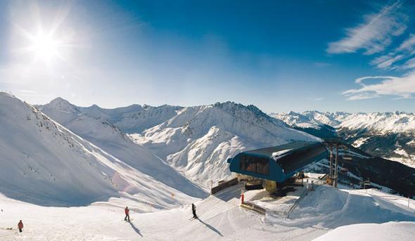 skiurlaub - (Winter, Skifahren, Berge)