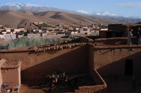 Todra Tal - (Winter, Marokko, Nordafrika)