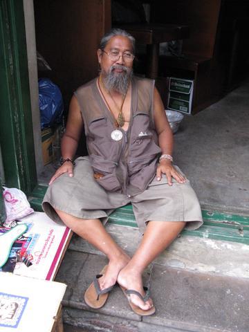 Nähe Wat Mahathat - (Thailand, Bangkok, alleine)
