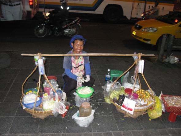 abends unterwegs - (Thailand, Bangkok, alleine)