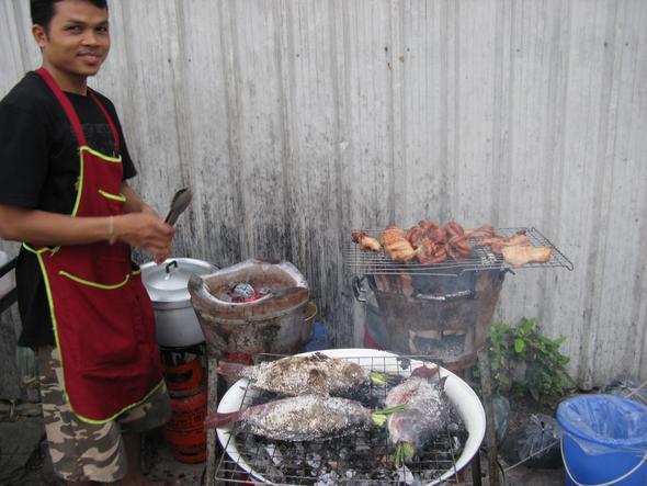 Garküche  - (Thailand, Bangkok, alleine)