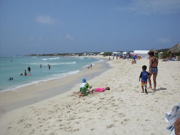 Aruba Arashi Beach - (Sehenswürdigkeiten, Ausflug, Karibik)