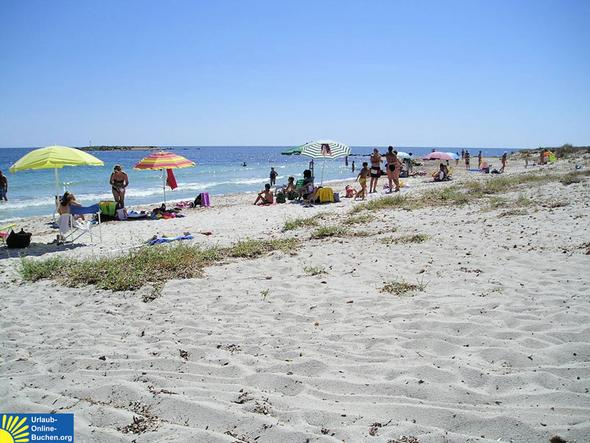 Strand Ottiolu, Sardinien - (Europa, Strand, Stadt)