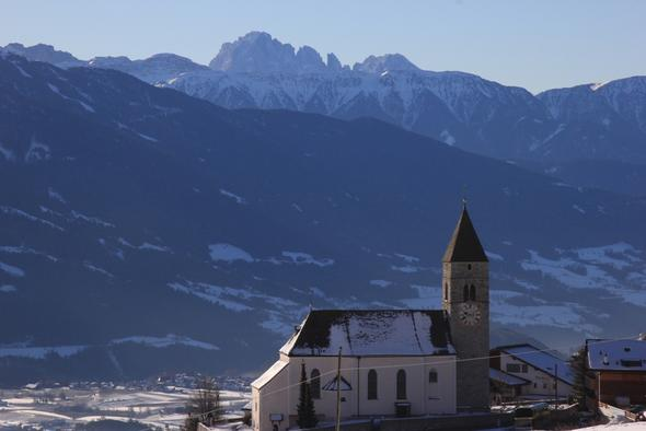Kirche von Meransen - (Winter, Sport, Ski)