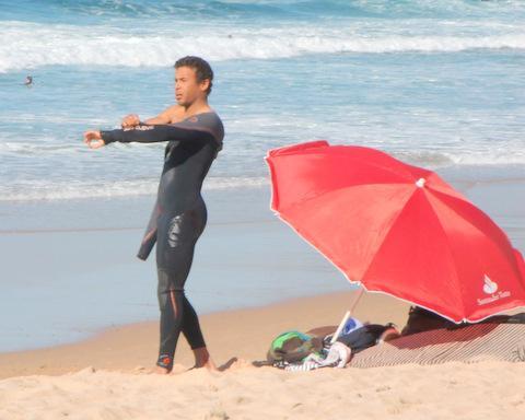 Sufer Algarve am Strand - (Portugal, Surfen, Algarve)