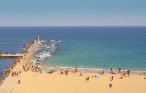 Strand von Praia da Rocha - (Portugal, Surfen, Algarve)