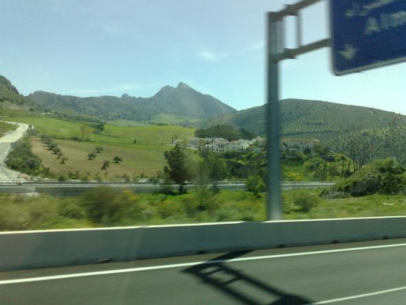 .... mit dem Bus durch Andalusien - (Andalusien, Westen, August September)